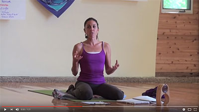 Yoga Teacher Training Segment with Indira, founder of Pavones Yoga Center
