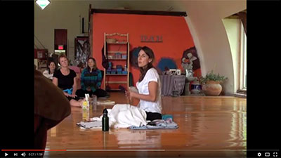 Opening to Prana: a yoga teacher training session with PYC founder Indira Kate Kalmbach