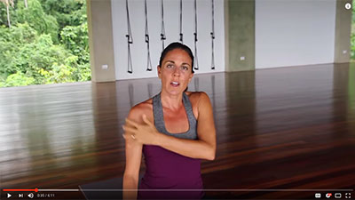 Yoga Therapy for Shoulders & Shoulder Pain at Pavones Yoga Center